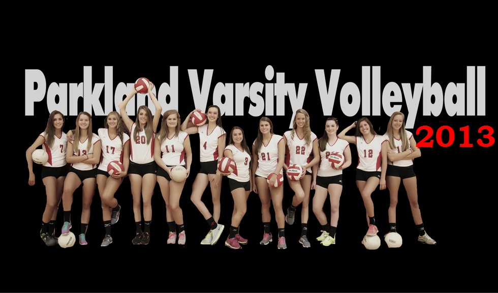 Parkland girls Varsity Volleyball 2013