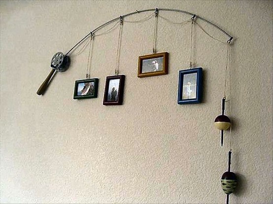 home recycled home fish tale photo collage blue fishing home decor collection on ebay