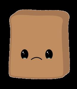 Sad toast