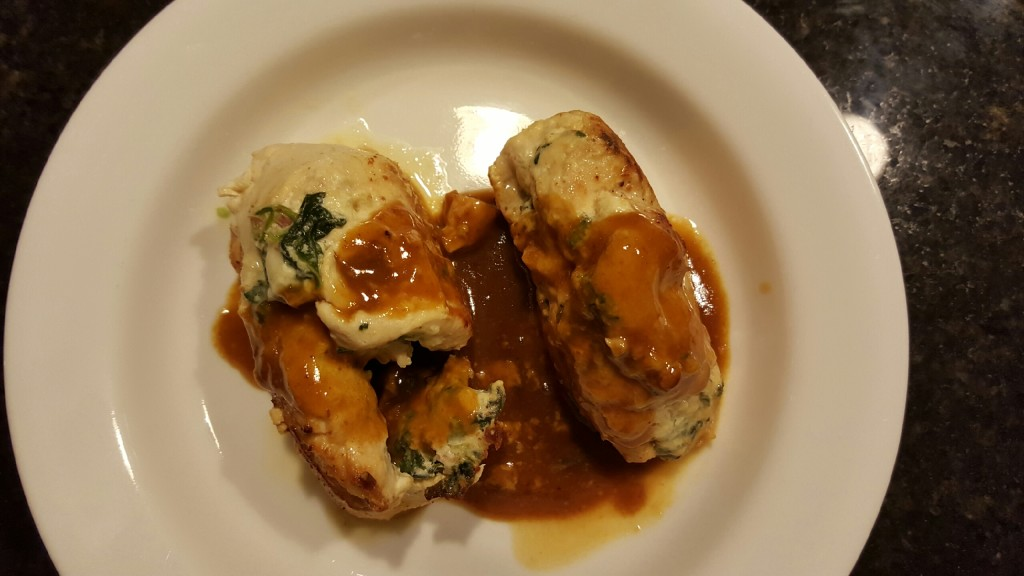Spinach ricotta stuffed chicken breasts recipe recipe courtesy of foodnetwork forumfinder Images