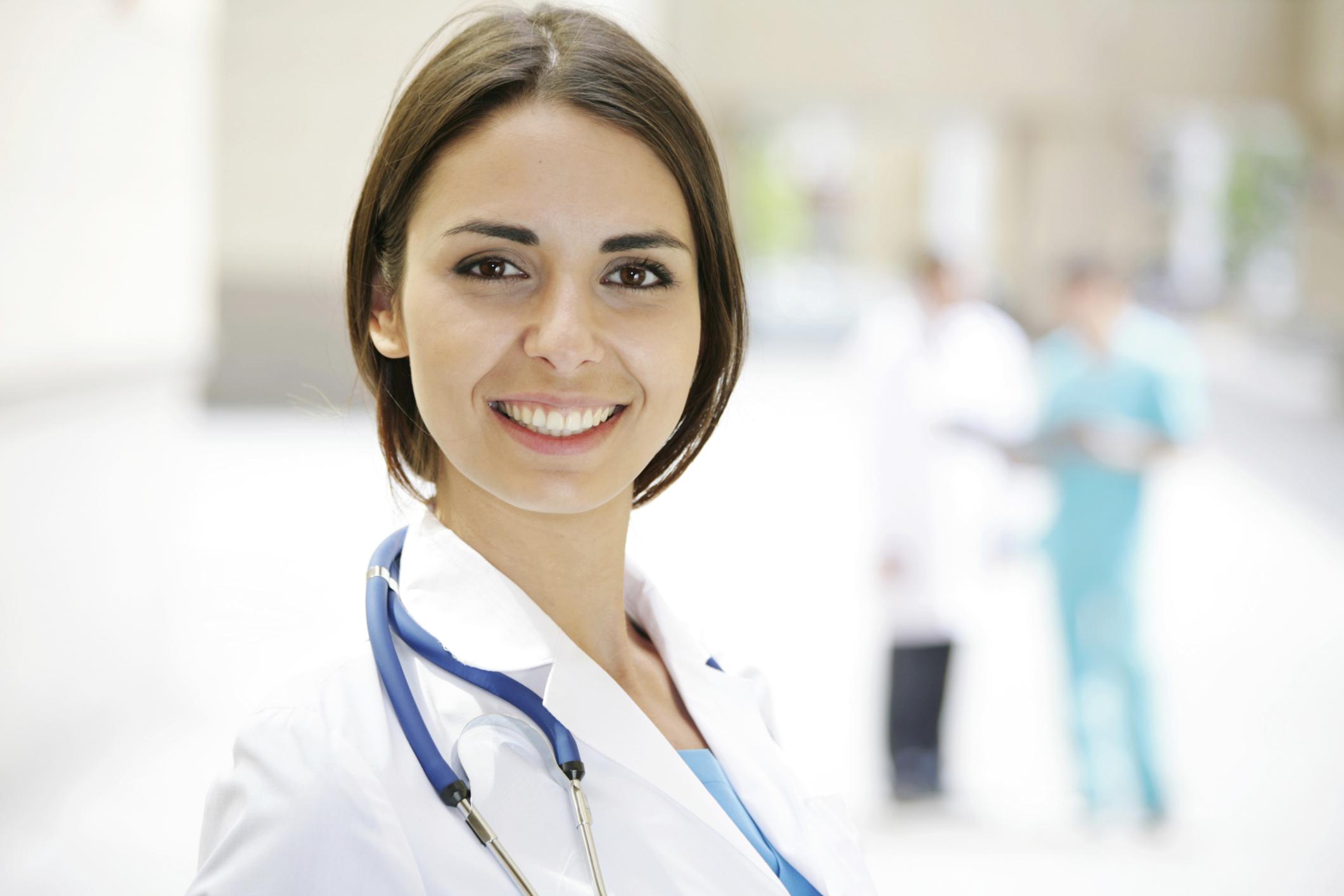девушка фото у врача